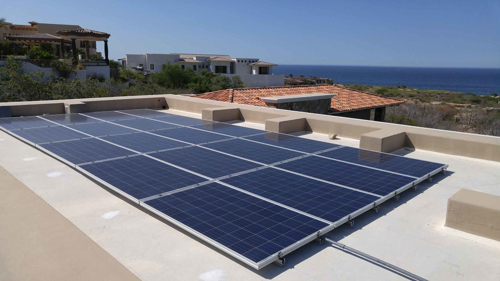 cabogreenpower 38 panel Puerto Los Cabos