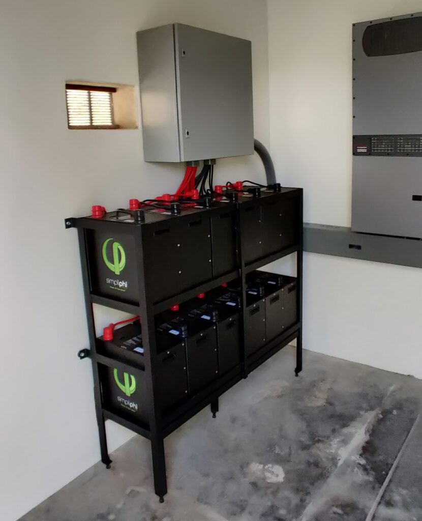 Cabo Green Power Simpliphi battery bank