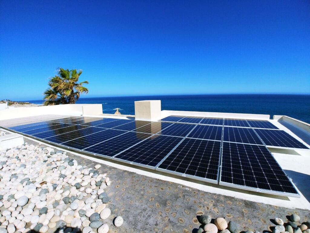 Cabo Green Power 34 solar panels