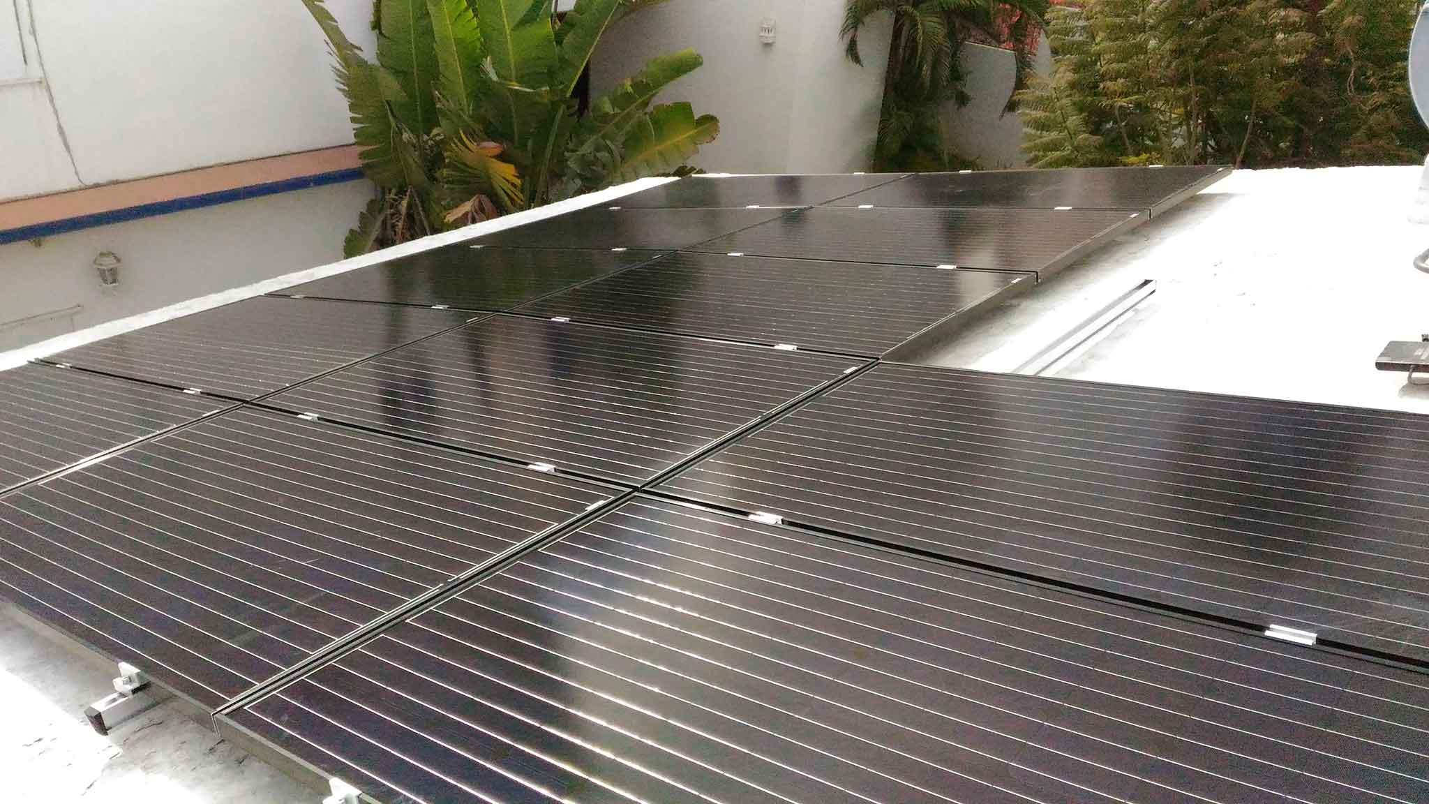 13 solar panels San Jose del Cabo